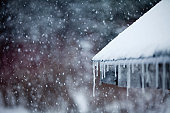 Icicles and Snowstorm