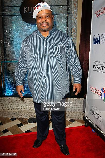 Icky Woods attends the Jason Taylor Foundation Celebrity Golf Classic Kick Off Party at Kuro at Seminole Hard Rock Hotel Casino on February 21 2016...