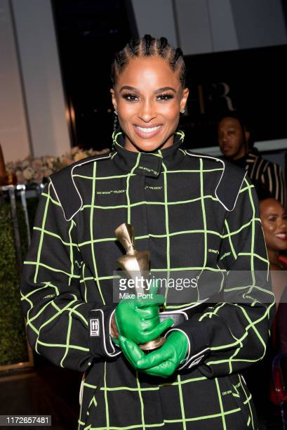 Icon 360 Award recipient Ciara attends Harlem Fashion Row at One World Trade Center on September 05, 2019 in New York City.