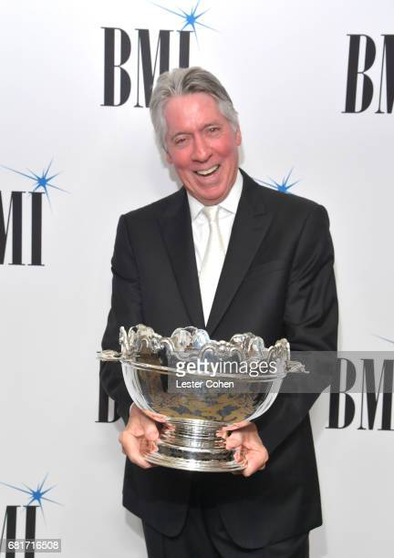 Icon Award recipient Alan Silvestri at the 2017 Broadcast Music Inc Film TV Visual Media Awards at the Beverly Wilshire Hotel on May 10 2017 in...