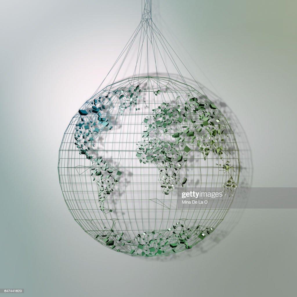 Icon Globe : Stock Photo