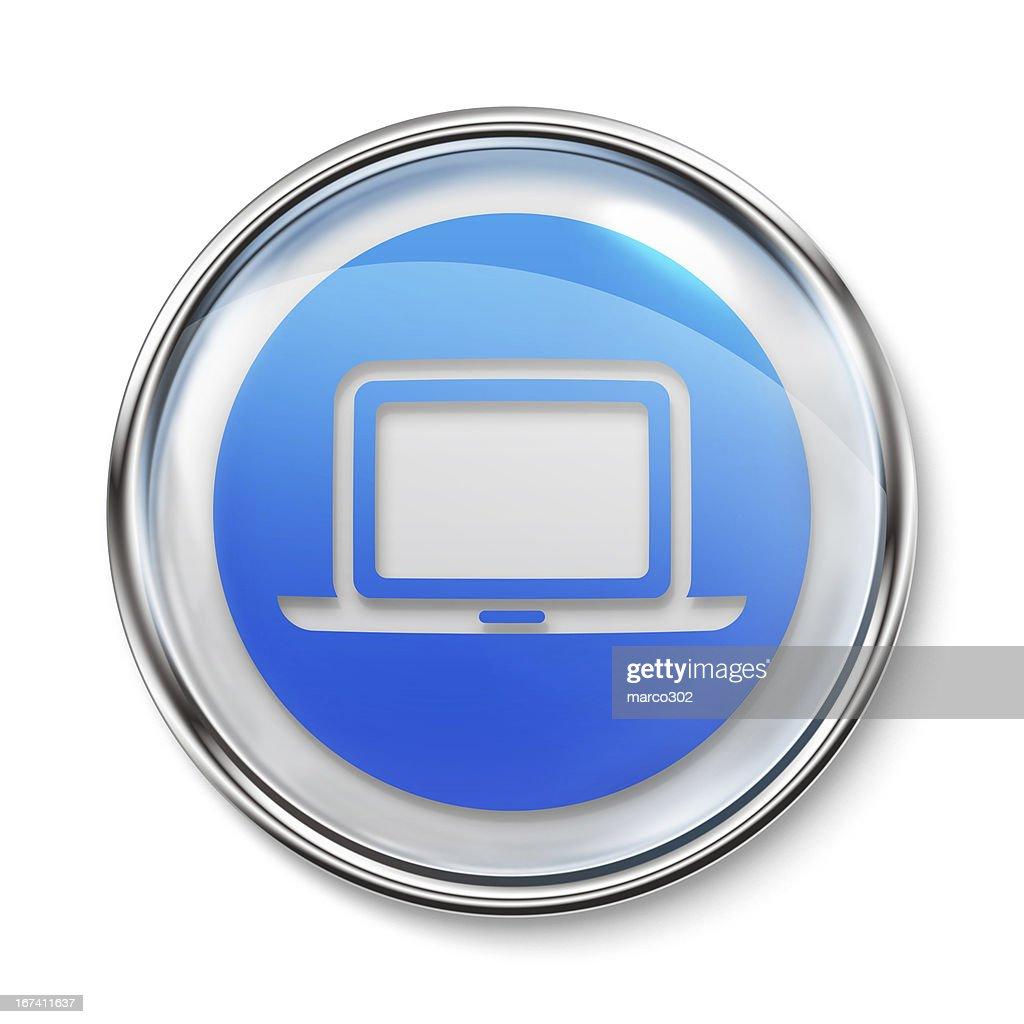 Icon - Laptop : Stock Photo