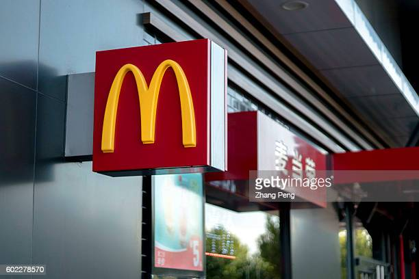 Icon of a McDonald's restaurant While Yum brands entered into a deal with Chinese local investors facing a declining trend in market share McDonalds...