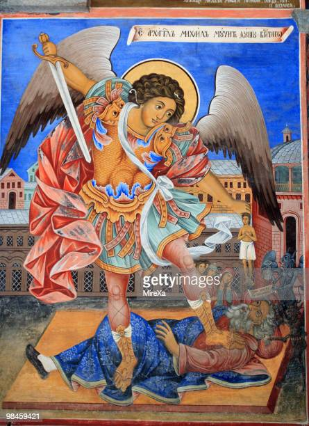 Icon of Archangel Michael in Rila Monastery