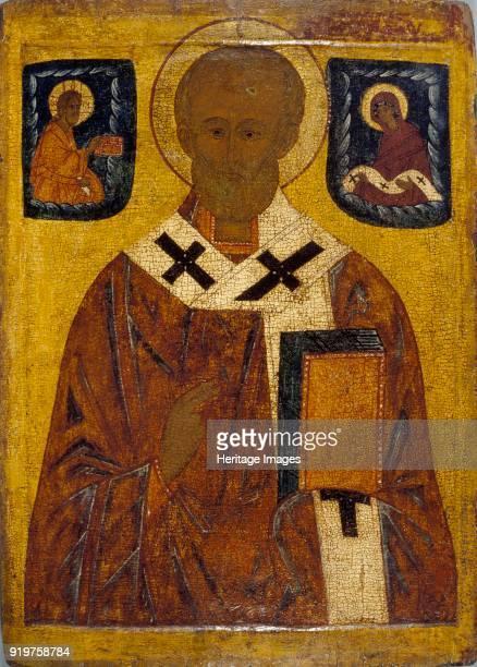 Icon of St Nicholas 15th16th century Artist Unknown