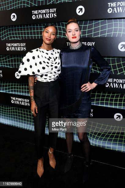 Icona Pop attends The 2019 TPG Awards at The Intrepid Sea, Air & Space Museum on December 09, 2019 in New York City.