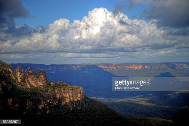Iconic 3 Sisters and Jamison Valley