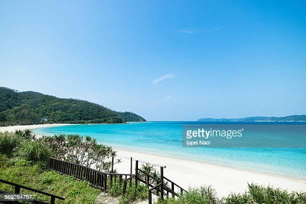 Iconic beach of Amami Oshima Island, Japan