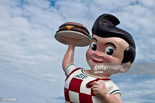 Iconic Big Boy Statue