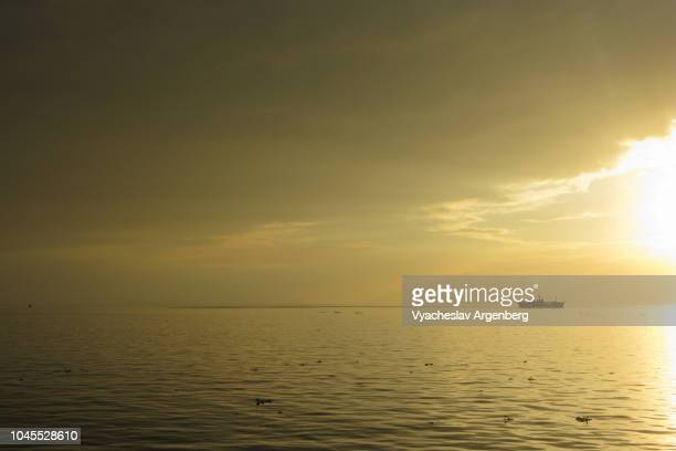 iconic manila bay sunset, magical glow - argenberg stock pictures, royalty-free photos & images