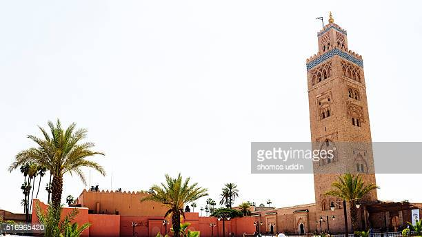 Iconic mosque of Medina in Marrakech