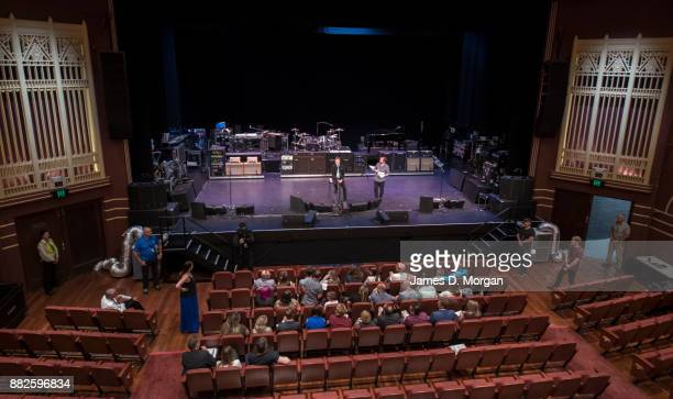 Iconic performer Sir Paul McCartney speaks and performs with 20 lucky fans at the Regal Theatre on November 30 2017 in Perth Australia The Australia...