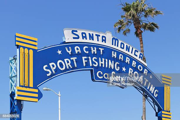 Iconic Sign - Santa Monica