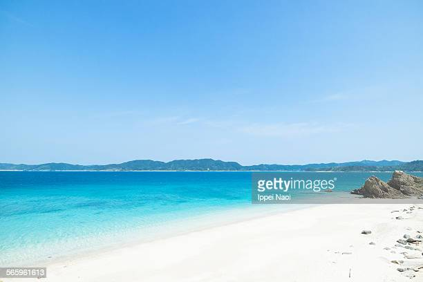 Iconic tropical beach of Amami Oshima, Japan