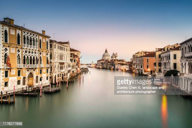 iconic view of venice - venice italy stock pictures, royalty-free photos & images