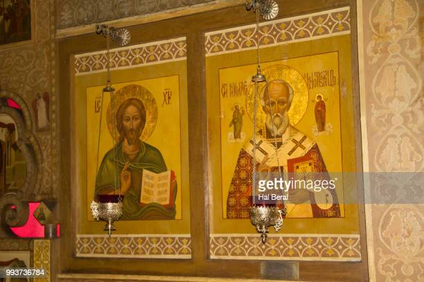 Icons in St. Nicholas Russian Orthodox Church