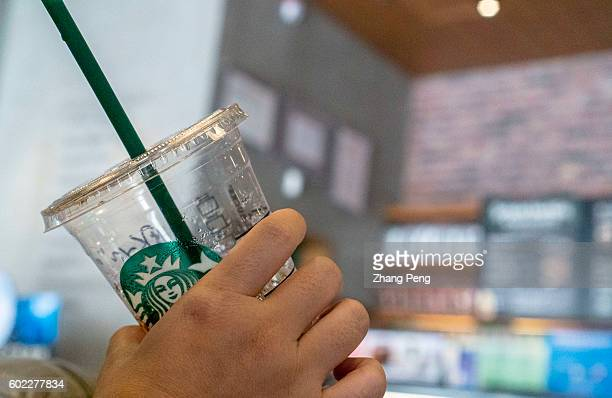 Icy drink in Starbucks coffee shop During the third quarter 2016 Starbucks China had $7682 million in sales a growth of 17% compared to the prior...