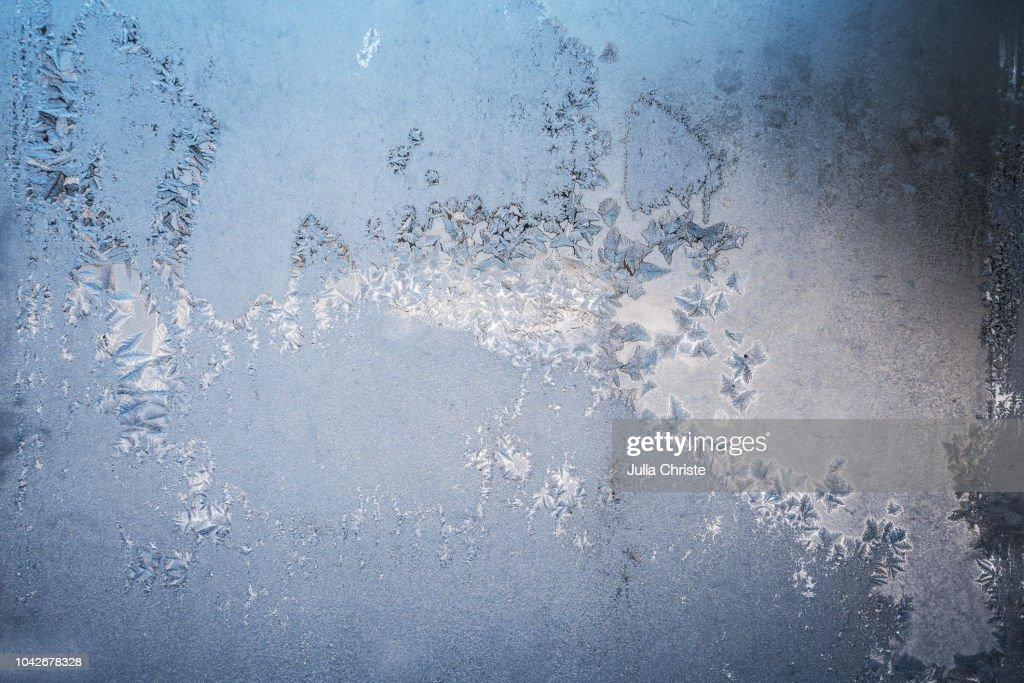 Icy window : Stock Photo