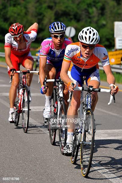 93th Giro d'Italia 2010 / Stage 17 Steven Kruijswijk / Danilo HONDO / Damien Monier / Brunico Peio Terme / Tour of Italy / Ronde van Italie / Rit...