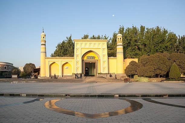Id Kah Mosque In Kashgar, Xinjiang, China Wall Art