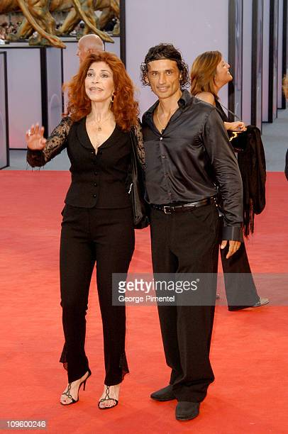 Ida Di Benedetto and Enrico Lo Verso during 2005 Venice Film Festival Opening Night Ceremony and Seven Swords Premiere at Sala Grande in Venice Lido...