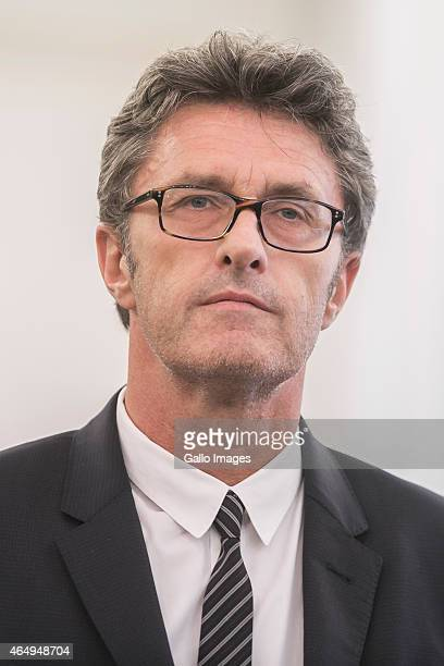 Ida director Pawel Pawlikowski during a meeting with President Bronislaw Komorowski on March 2 2015 at Belvedere Palace in Warsaw Poland Ida is the...