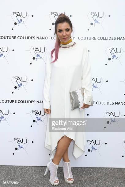 Ida Galati attends Sfilata AU197SM AltaRoma on June 29 2018 in Rome Italy