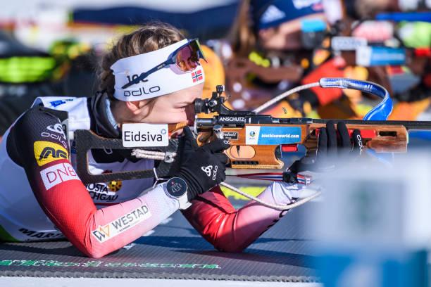 ITA: IBU Cup Biathlon Martell-Val Martello - Women 12 km Mass Start 60