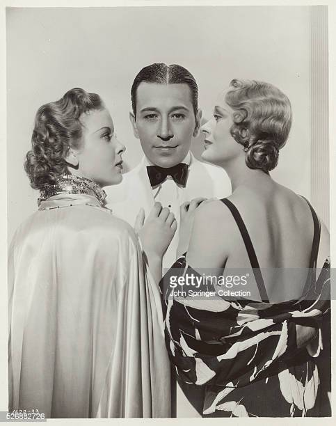 Ida Lupino George Raft and Dolores Costello Barrymore star in Yours for the Asking
