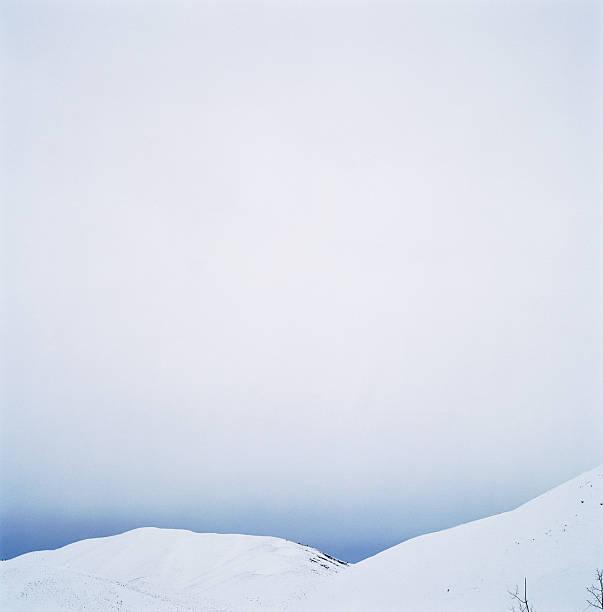 USA, Idaho, Rocky Mountains, Sun Valley, snow-covered mountains