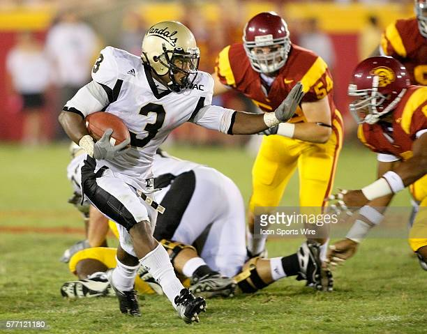 Idaho Vandals 3 Breyon Williams during a college football game between the Idaho Vandals and the USC Trojans at the LA Coliseum in Los Angeles...