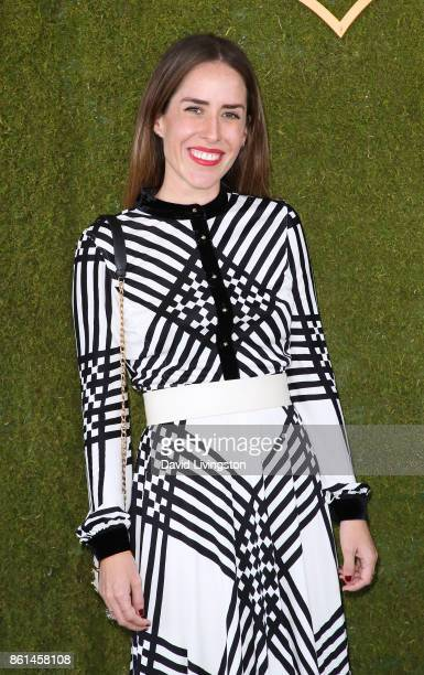 Idalia Salsamendi attends the 8th Annual Veuve Clicquot Polo Classic at Will Rogers State Historic Park on October 14 2017 in Pacific Palisades...