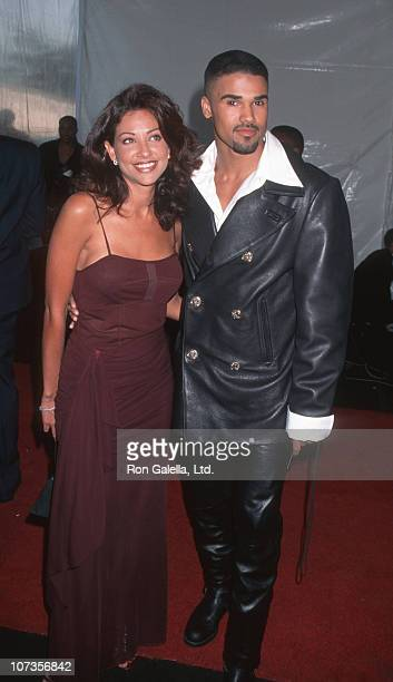 Idalis DeLeon and Shemar Moore during 10th Annual Soul Train Music Awards at Shrine Auditorium in Los Angeles California United States