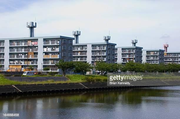 Identical Apartment Blocks