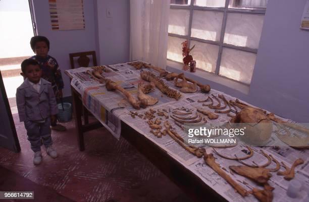 Identification des restes de Che Guevara par l'Equipe d'Anthropologie Forensique Argentine en Bolivie en 1997