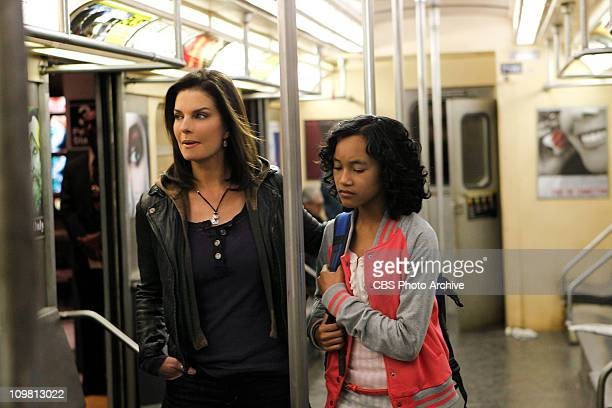 Identity Crisis Det Josephine Jo Danville left walks with her adopted daughter Ellie who becomes a key witness in a murder investigation on CSINY...