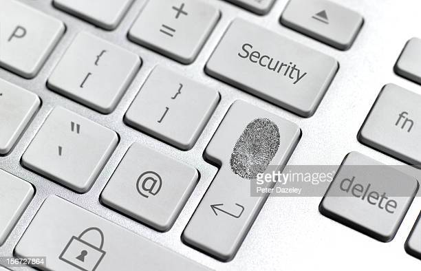 Identity security computer keyboard