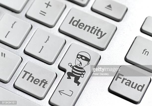 Identity theft keyboard
