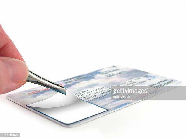identity theft - fake stock pictures, royalty-free photos & images