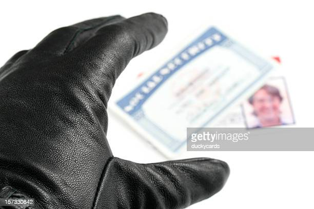 identity theft - thief stock pictures, royalty-free photos & images