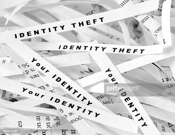 Identität Diebstahl-Aktenvernichter
