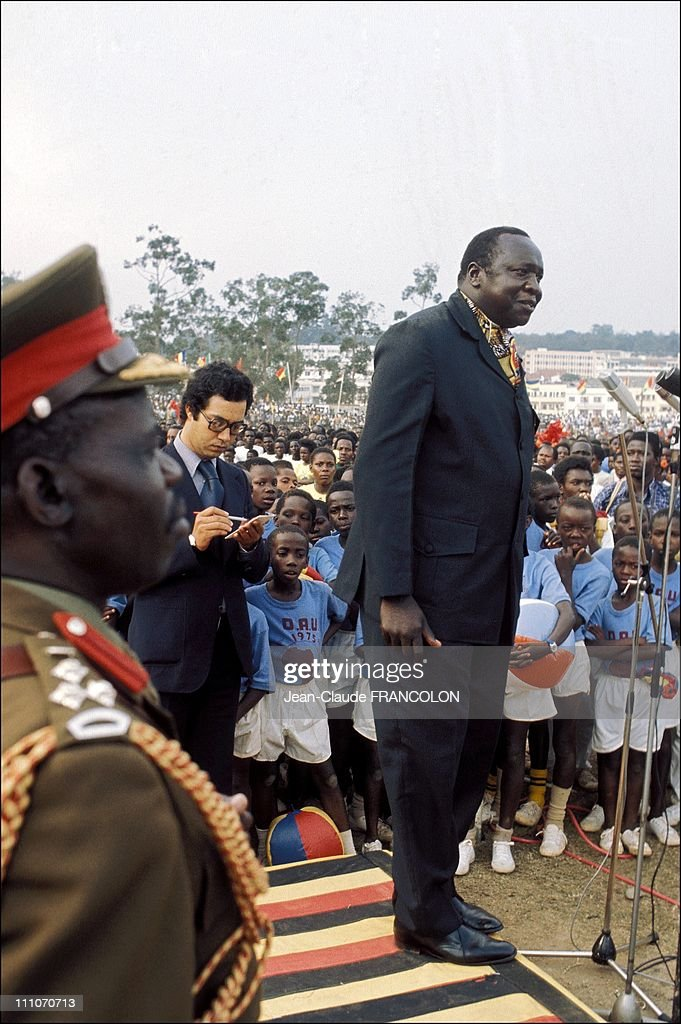 Idi Amin Dada Elu, President of Uganda in Kampala, Uganda on July 29, 1975. : ニュース写真