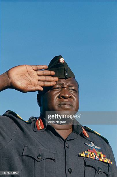 Idi Amin presides over the Organisation of African Unity Summit in Addis Ababa