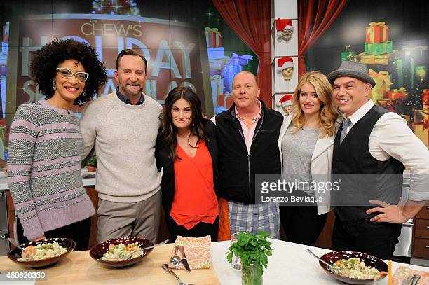 THE CHEW Idina Menzel and the Radio City Rockettes ares guests on 'The Chew' airing MONDAY FRIDAY on the ABC Television Network