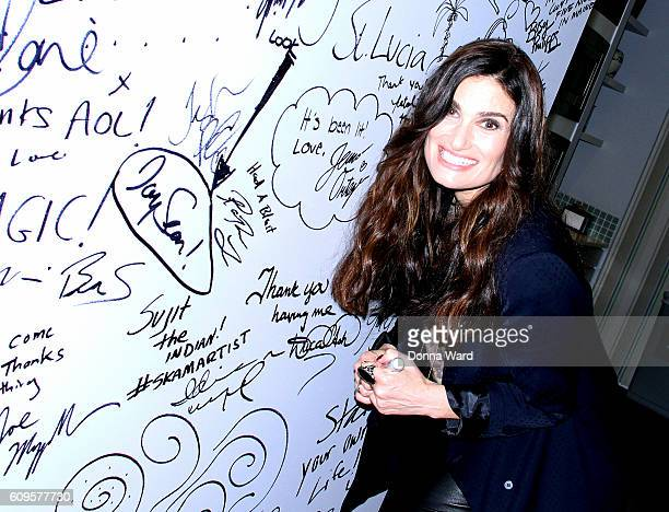 Idina Menzel appears to promote 'idina menzel' during the AOL BUILD Series at AOL HQ on September 21 2016 in New York City