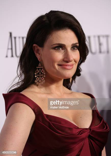 Idina Menzel attends American Theatre Wing's 68th Annual Tony Awards at Radio City Music Hall on June 8 2014 in New York City