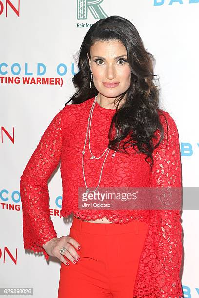Idina Menzel attends 'Baby It's Cold Outside' The 2016 Revlon Holiday Concert For The Rainforest Fund Gala at JW Marriott Essex House on December 14...