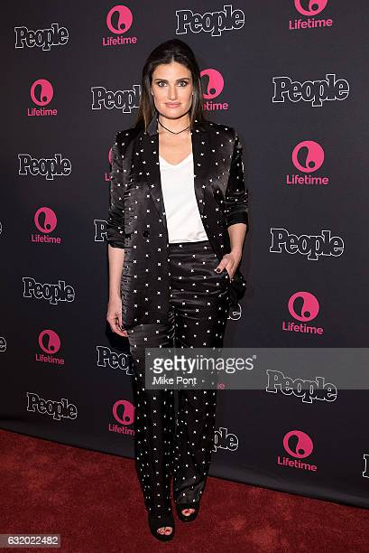 Idina Menzel attends Lifetime's 'Beaches' New York screening at AMC Empire 25 theater on January 18 2017 in New York City