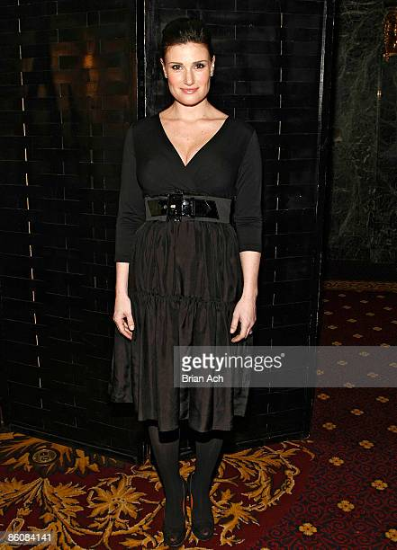 Idina Menzel attends the 2009 Dramatists Guild Fund annual benefit gala at the Hudson Theatre on April 20 2009 in New York City