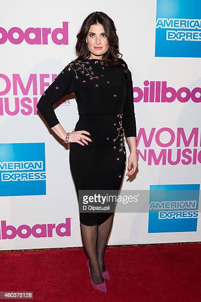 Idina Menzel attends the 2014 Billboard Women In Music Luncheon at Cipriani Wall Street on December 12 2014 in New York City